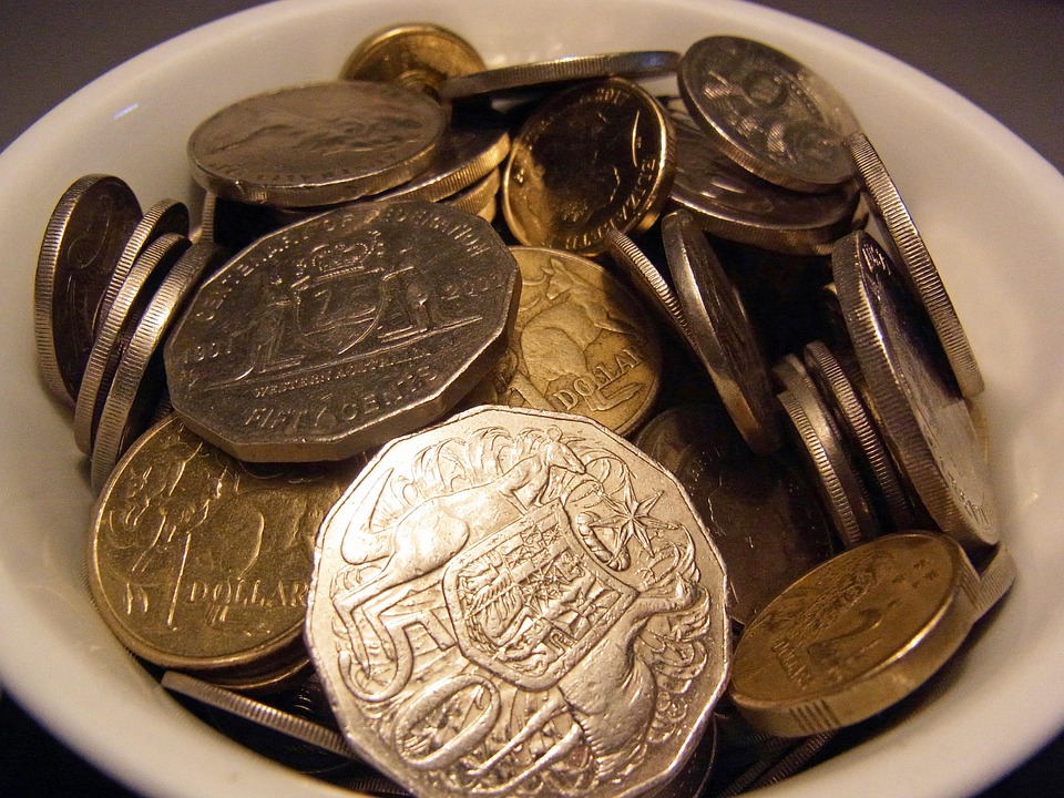 australské mince