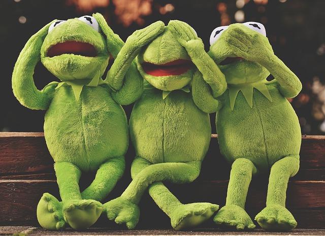 plyšové žáby