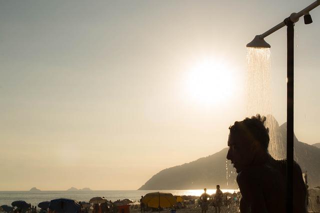 vodní sprcha