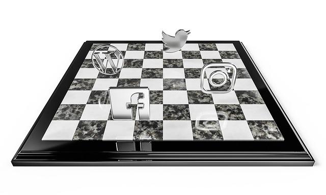 šachovnice a soc. média