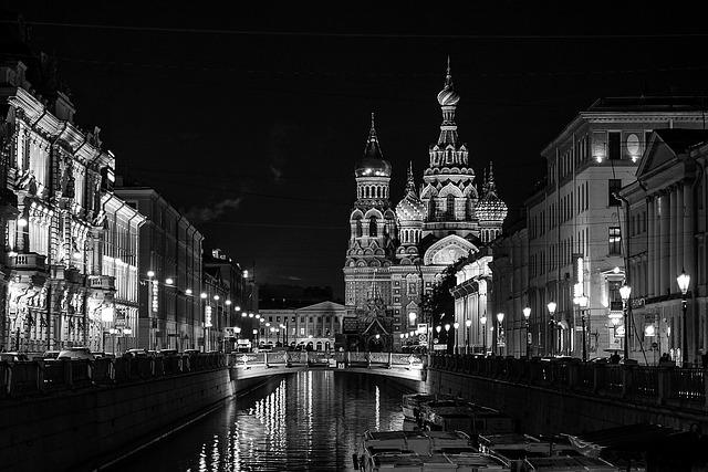 večerní město