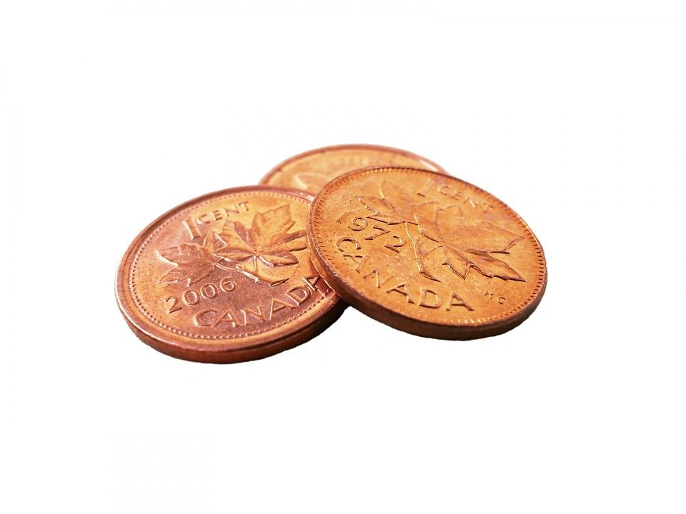 kanadské mince